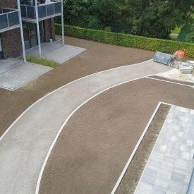 Pflasterarbeiten Gartenweg