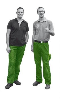 Daniel Ewelt und Michael Nienau